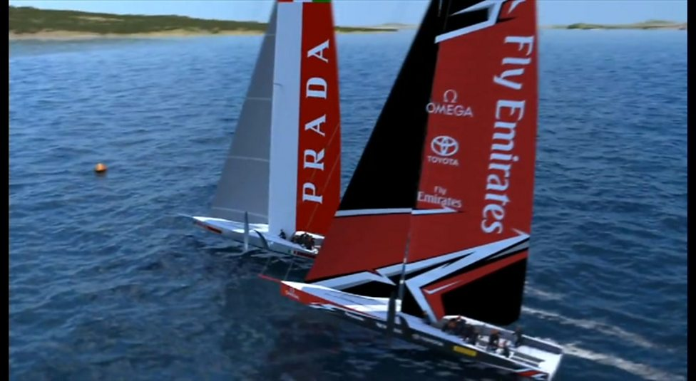 America's Cup: Ben Ainslie Racing react to unveiling of boat design for  2021 edition