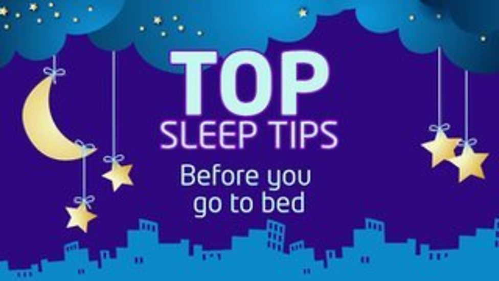 Sleep tips: Things to do right before bed