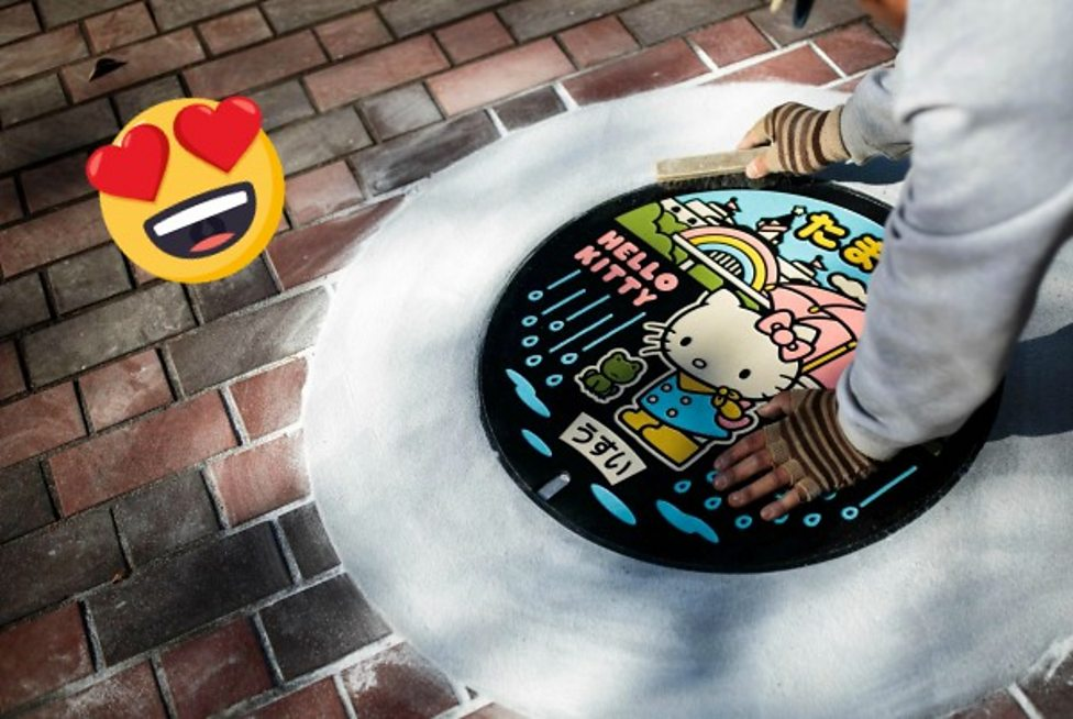 Arty manhole covers hit the streets of Japan