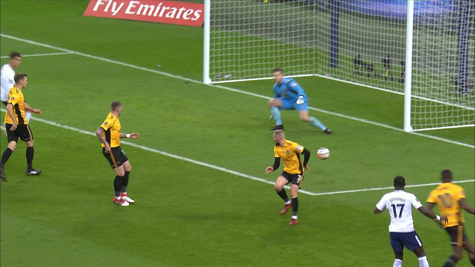 FA Cup: Unfortunate Dan Butler own goal gives Spurs early ...