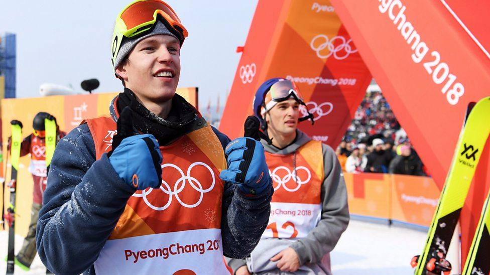 Winter Olympics: Oystein Braaten wins men's slopestyle gold