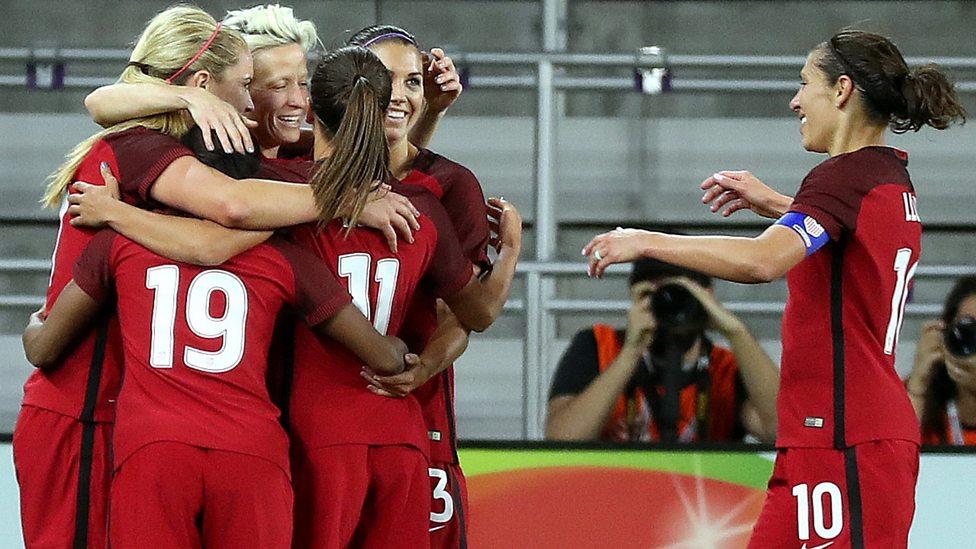 Resultado de imagen de england usa women football