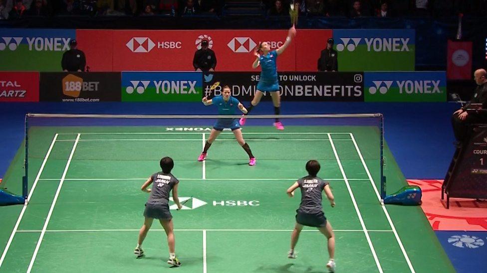 Badminton Watch Unbelievable 102 Shot Rally Bbc Sport