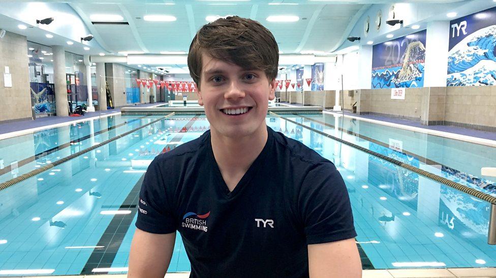 Team England's Tom: 'I wanna get the gold!'