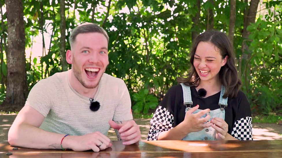 How well does Martin know his Aussie slang? (Clue: Not very)