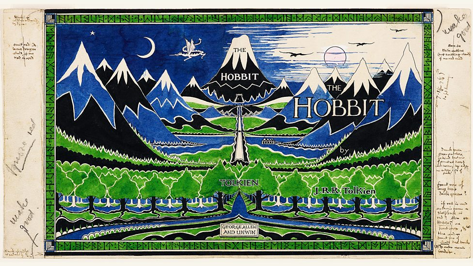 New exhibition of JRR Tolkien's art in Oxford P068ptsl