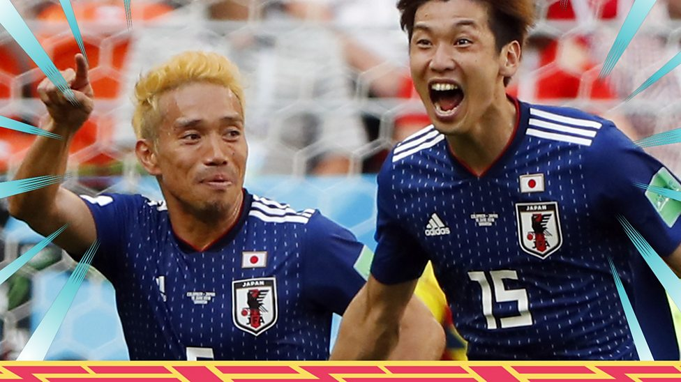 new concept 056cf 91533 World Cup 2018: Colombia 1-2 Japan highlights