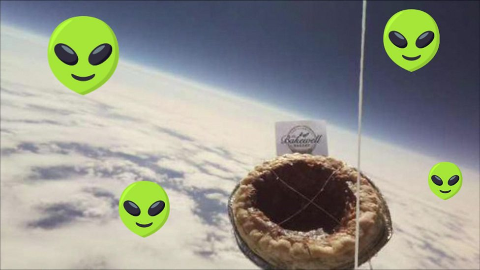 The pud that's lost in space