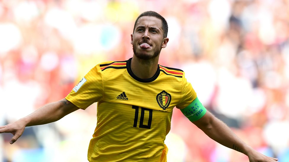 timeless design 11cd9 6f85e World Cup 2018: Eden Hazard scores Belgium's 'fantastic' fourth goal v  Tunisia