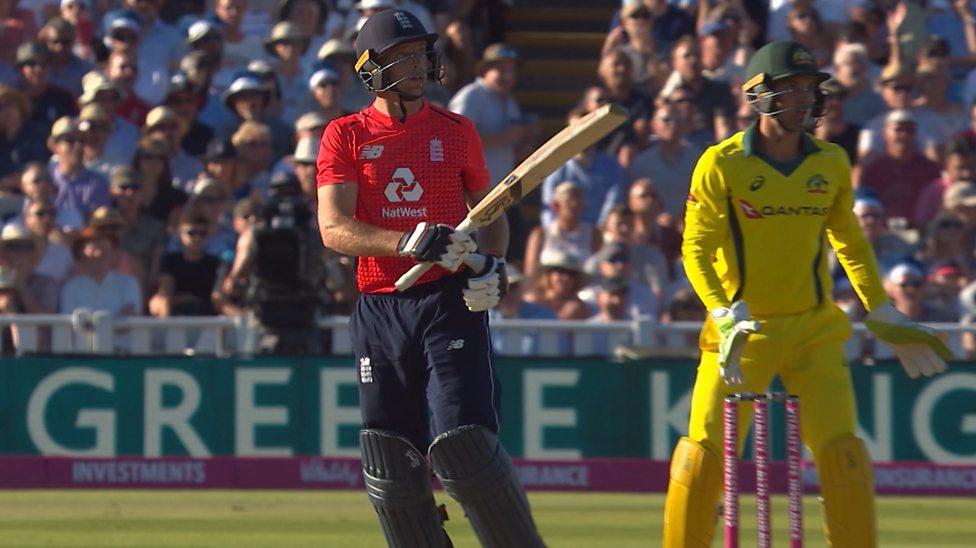 Jos Buttler scored 61 runs off 30 balls in Edgbatson. (Photo - BBC)