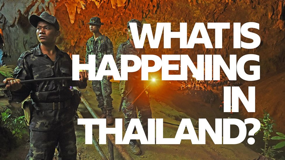 What is happening with the Thailand cave rescue?