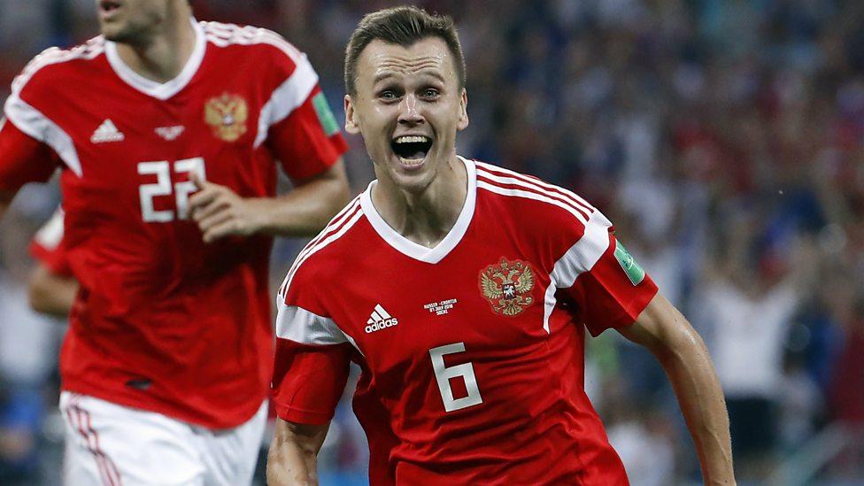 Russian striker world cup