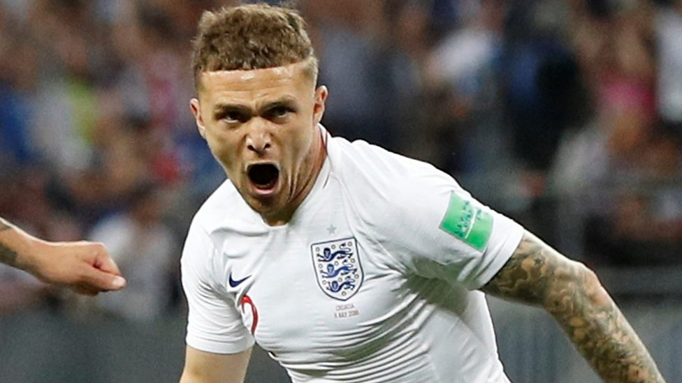Image result for 'Pinpoint' Trippier free-kick gives England early lead