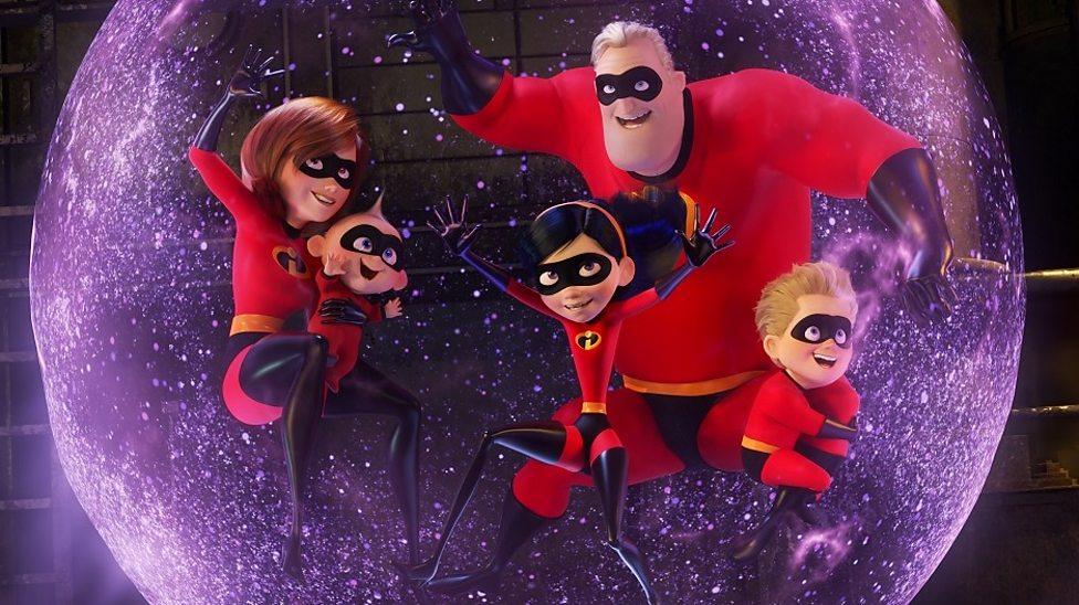 Pixar's superhero family return with a bang