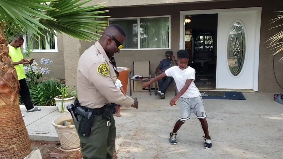 Police v kid: Who won this dance battle?