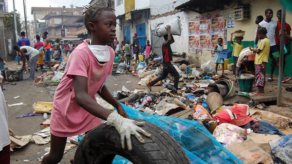 Sierra Leone holds national cleaning day