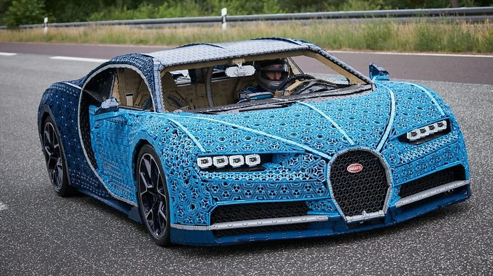 Lego Has Built A Driveable Bugatti Car Out Of A Million Pieces