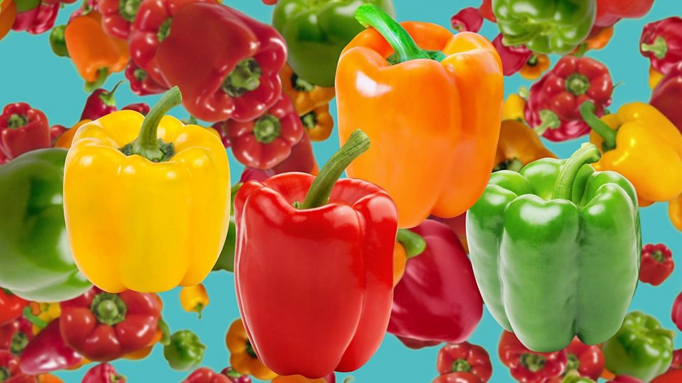 Are green, red, yellow and orange peppers different?