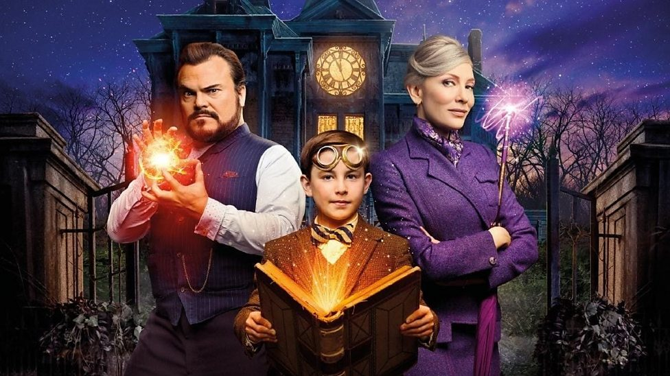 Image result for house with a clock in its walls cast