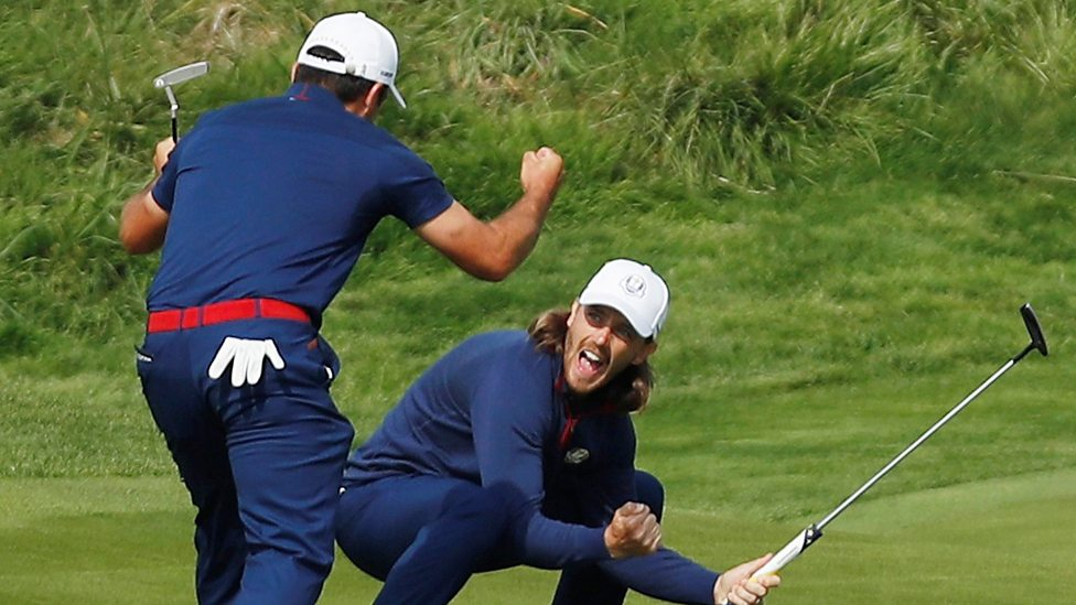 Ryder Cup format, scoring, rules for four-ball and foursomes, coverage, schedule