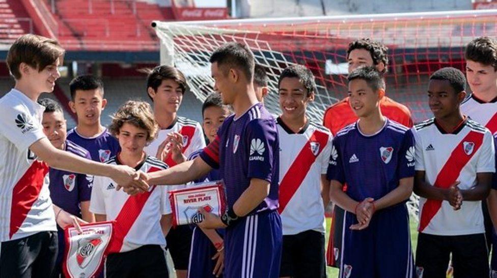 Thai Cave boys visit Summer Youth Olympics