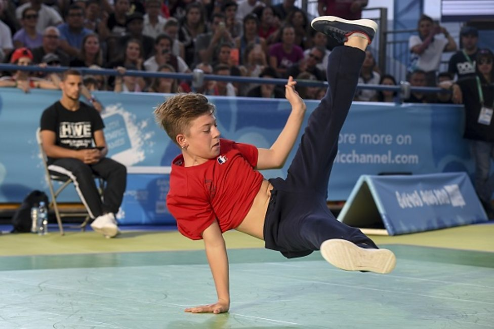 Check out these moves by breakdancers at the Youth ...