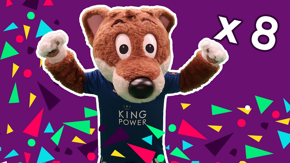 Scottish 8 Times Table with Filbert Fox - BBC Sport