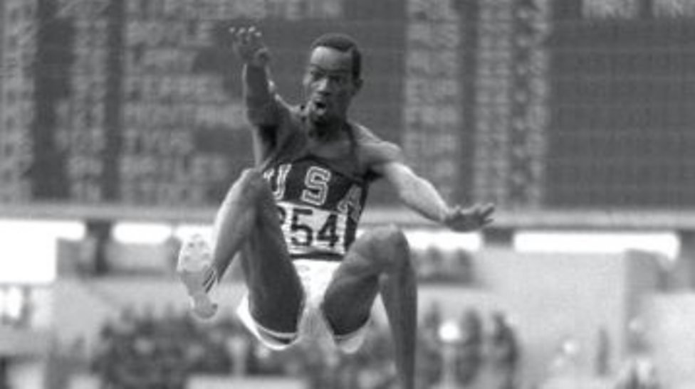 Fifty years on Bob Beamon smashes long jump world record at Mexico Olympics