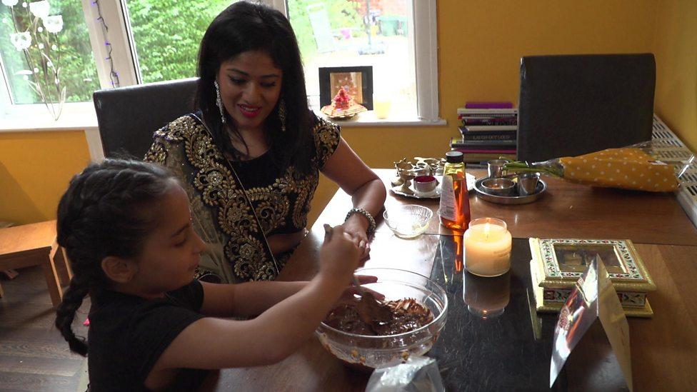 Deeya tells us how she celebrates Diwali