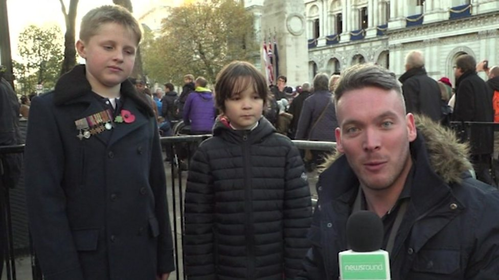 Kids take part in People's Procession in London