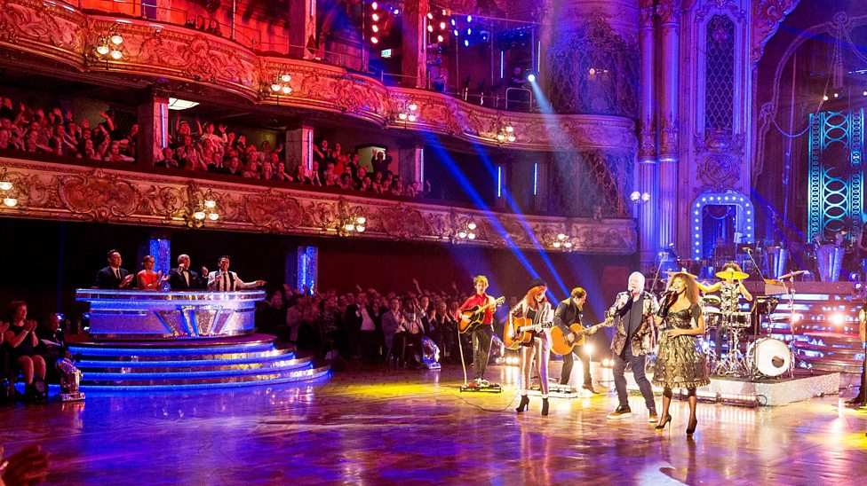 Go behind the scenes on the Strictly special in Blackpool
