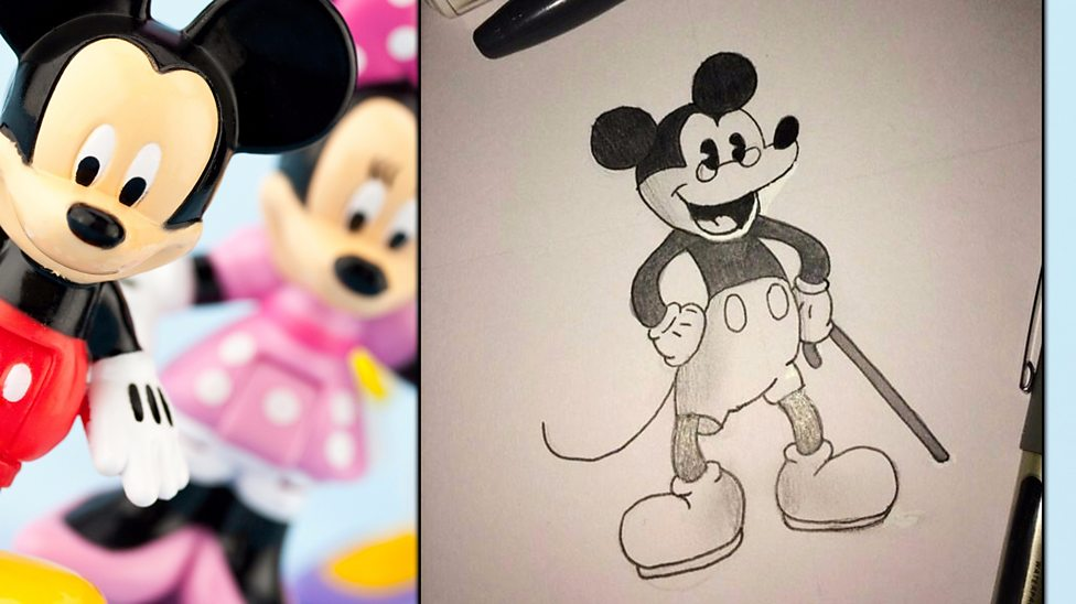 Your pictures of Mickey Mouse at 90 years old