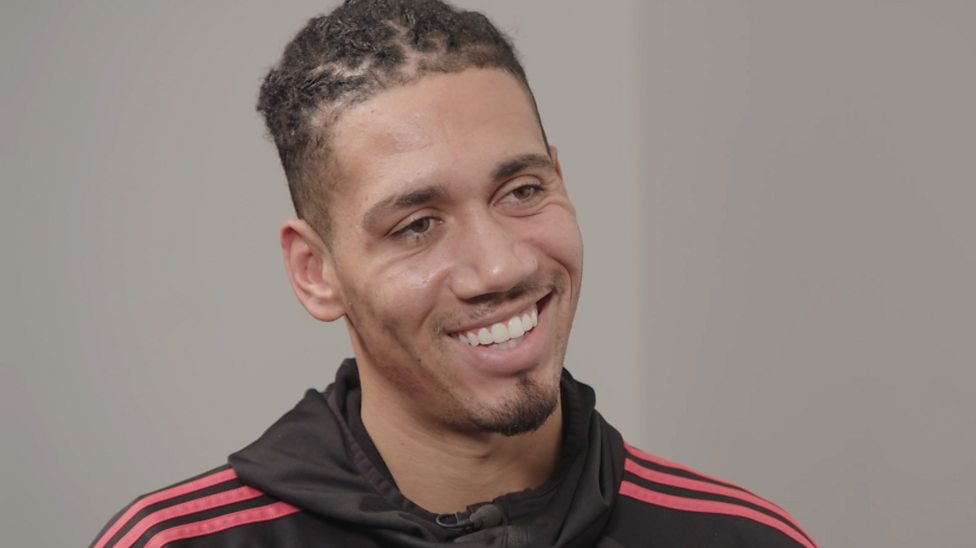 Chris Smalling Spag Bol Quinoa Avocados Manchester United