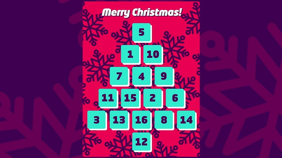 What Is A Reverse Advent Calendar Cbbc Newsround