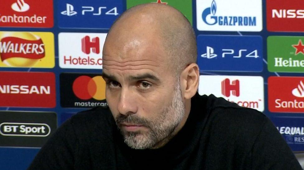 ผลการค้นหารูปภาพสำหรับ Pep Guardiola: Man City boss says 'racism is everywhere'
