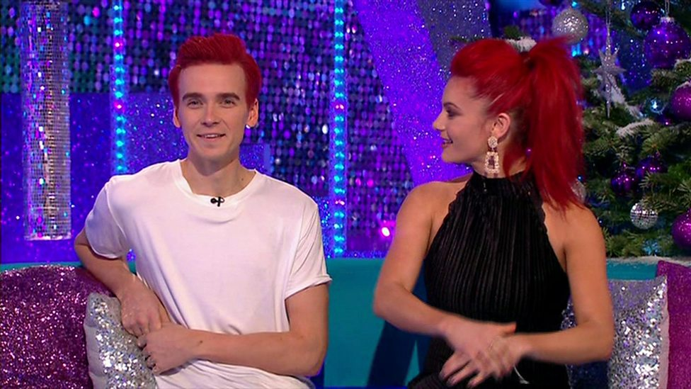 Joe Sugg promised to dye his hair red - and he has - CBBC Newsround