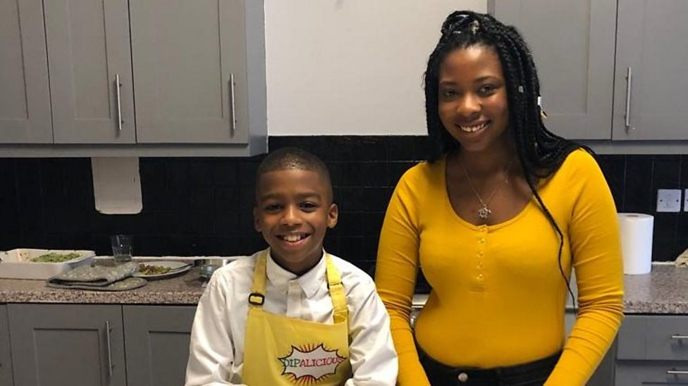 Meet Omari the 10-year-old vegan chef