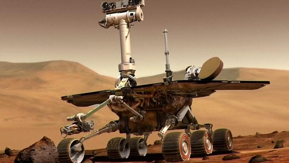 The Opportunity Mars rover mission is over!