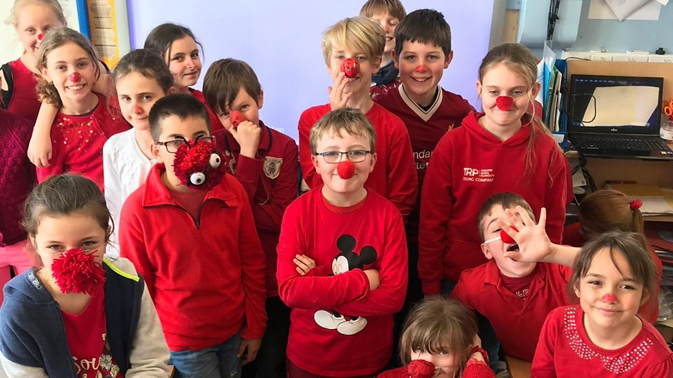 The school ditching red noses