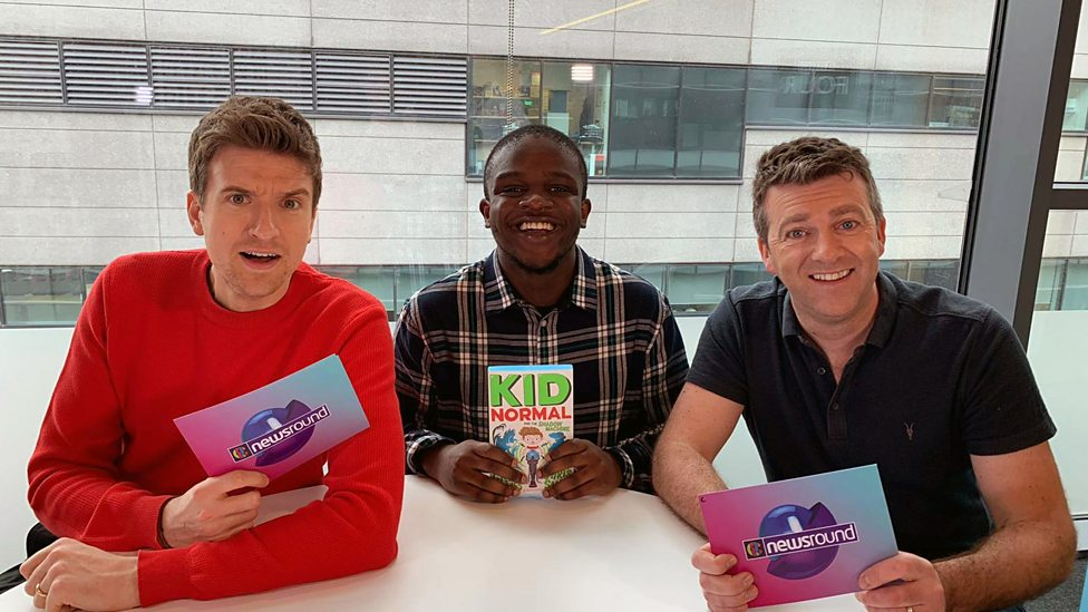 Greg James takes on our superpowers game