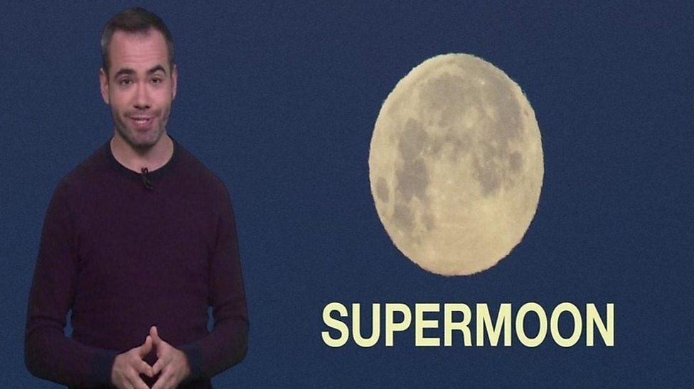 What is a super worm moon?