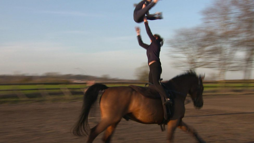 Have you ever heard of horse vaulting?