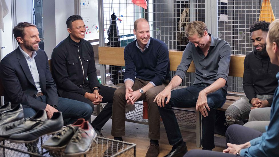 Prince William and footballers speak up about mental health