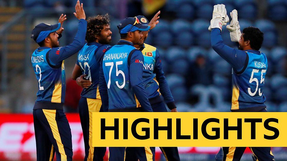Cricket World Cup Sri Lanka Beat Afghanistan Highlights Bbc Sport