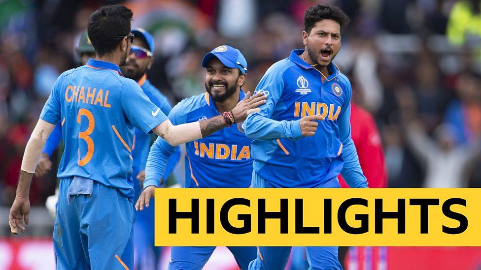 Cricket World Cup Dominant India Beat Pakistan Highlights Bbc Sport