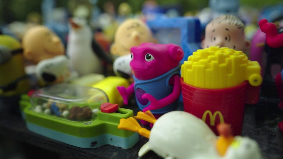 Are too many plastic toys given away in kids meals?