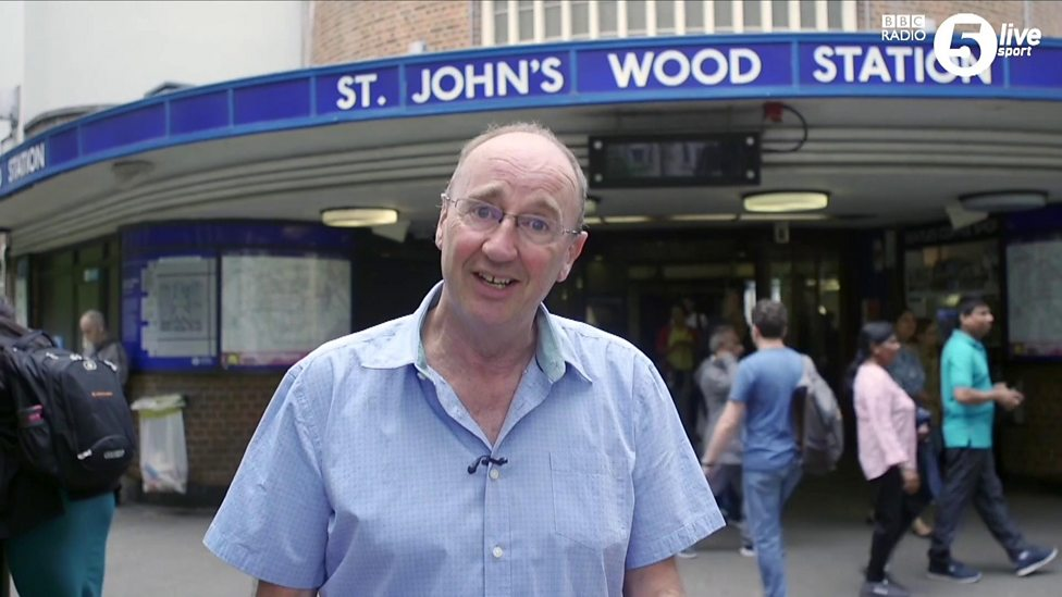 Jonathan Agnew becomes tube announcer for Cricket World Cup final