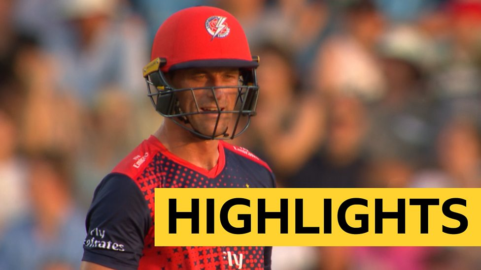 T20 Blast 2019: Dane Vilas scores 43 off 24 balls as Lancashire beat