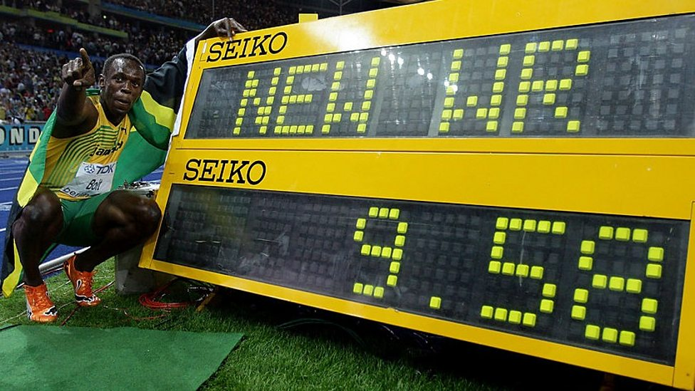 Image result for usain bolt's 100m record