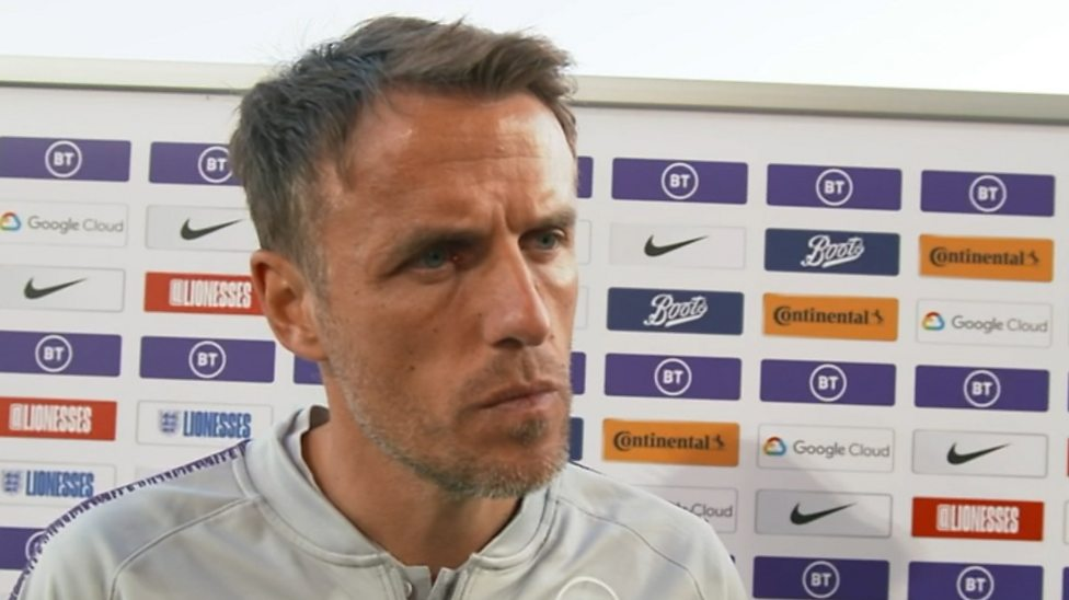 Phil Neville: 'My focus is England' - Phil Neville dismisses USA rumour